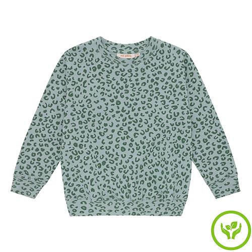 Soft Gallery Baptiste Sweatshirt Slate, AOP Leospot L (trui)-1
