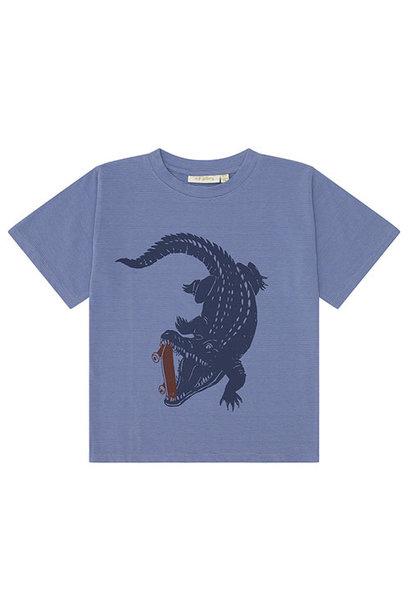 Soft Gallery Dain T-shirt Croissant, Crocoskate (shirt)