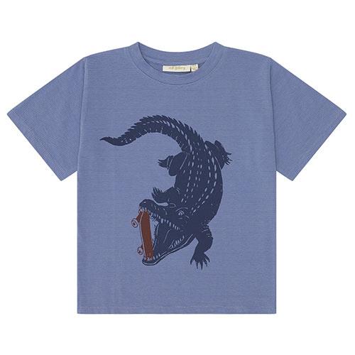 Soft Gallery Dain T-shirt Croissant, Crocoskate (shirt)-1