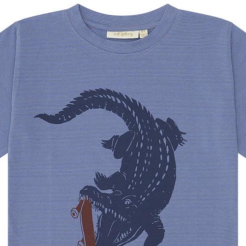 Soft Gallery Dain T-shirt Croissant, Crocoskate (shirt)-6