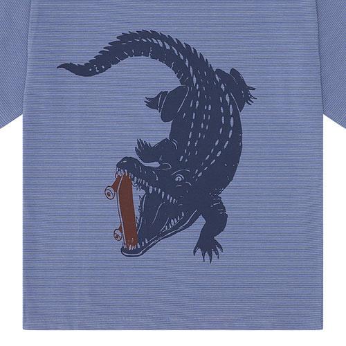 Soft Gallery Dain T-shirt Croissant, Crocoskate (shirt)-7