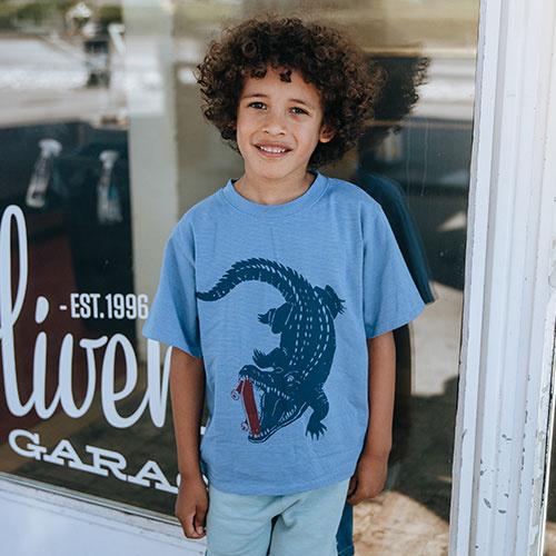 Soft Gallery Dain T-shirt Croissant, Crocoskate (shirt)-5