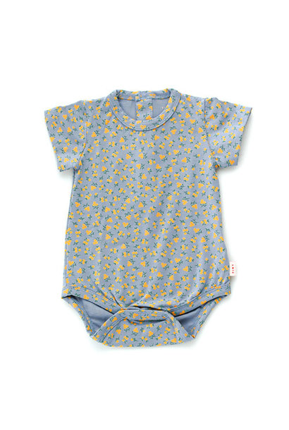 Tinycottons Small Flowers Body summer grey/honey (romper)