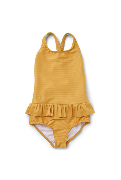 Liewood Amara swimsuit structure Yellow mellow (badpak)