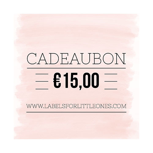 Cadeaubon €20 // Labels for Little Ones-3