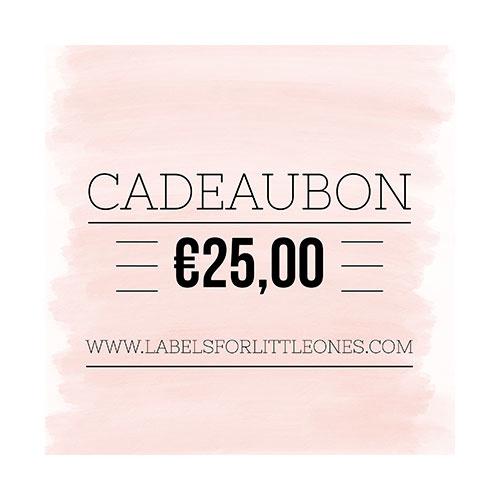 Cadeaubon €20 // Labels for Little Ones-4