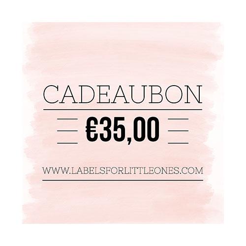 Cadeaubon €25 // Labels for Little Ones-5