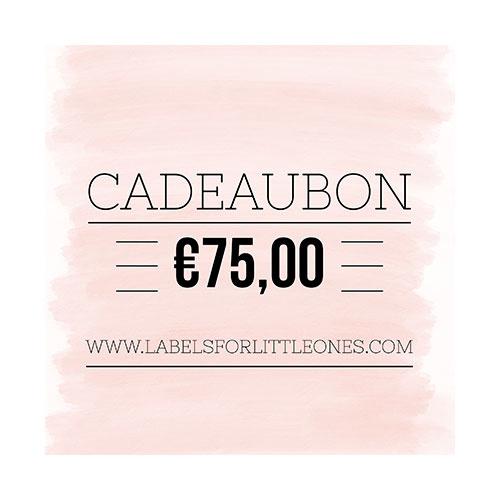 Cadeaubon €25 // Labels for Little Ones-7
