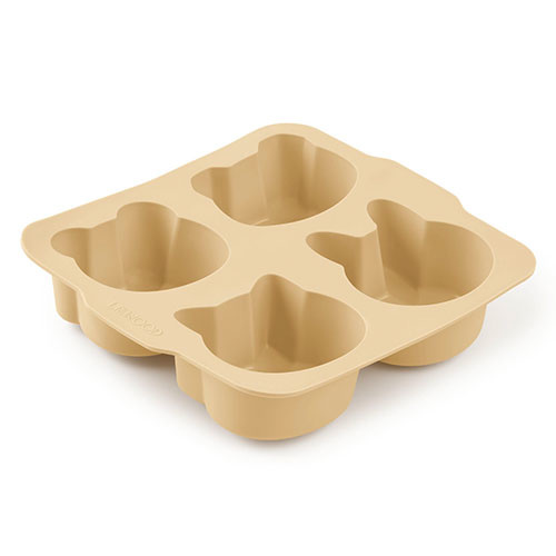 Liewood Mariam cake pan - 2 pack Wheat yellow sandy mix (bakvorm)-2