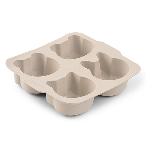 Liewood Mariam cake pan - 2 pack Wheat yellow sandy mix (bakvorm)-3