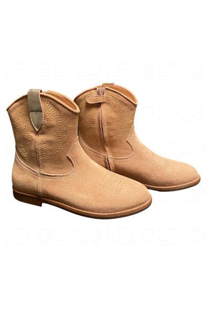 Ocra Cowboy Boots Valencia Nude d380 (laars)