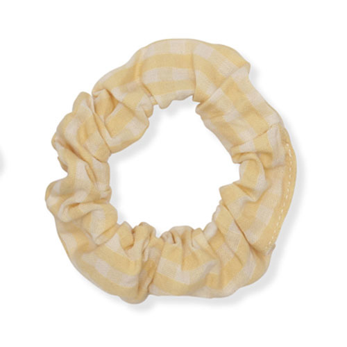 Konges Slojd 3 Pack Schrunchie Small Buttercup Rosa/Yellow Check/Rosarie Red (wokkel)-3