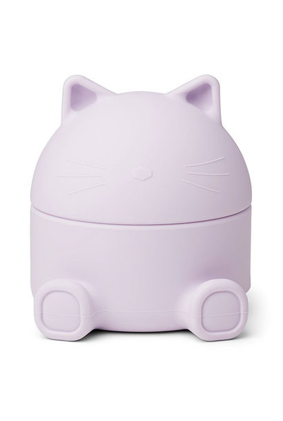 Liewood Murphy treasure box Cat light lavender (bewaardoosje)