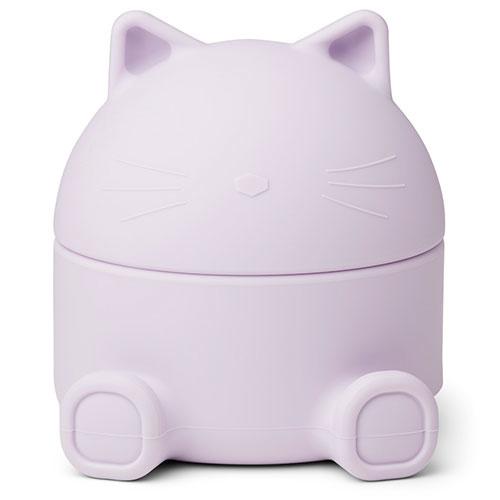 Liewood Murphy treasure box Cat light lavender (bewaardoosje)-1