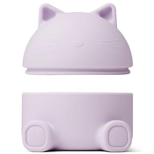 Liewood Murphy treasure box Cat light lavender (bewaardoosje)-2