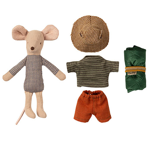 Maileg Hiker mouse, Big brother (muis)-3