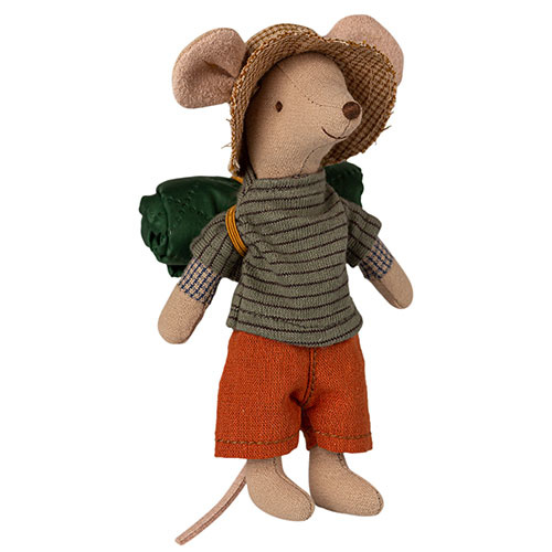 Maileg Hiker mouse, Big brother (muis)-1