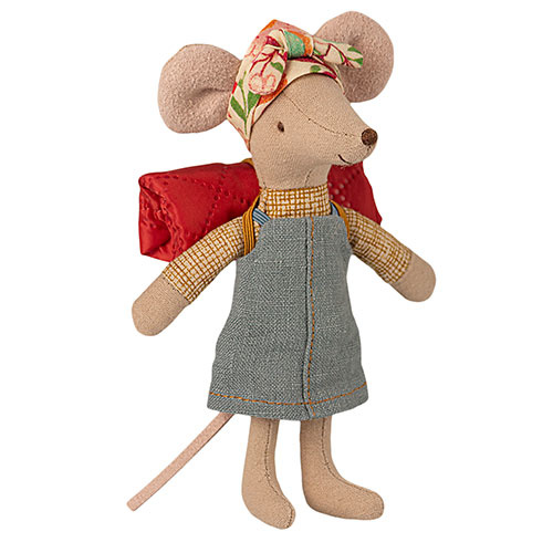 Maileg Hiker mouse, Big sister (muis)-1