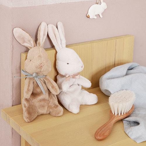 Maileg Soft bunny, Small - Brown (konijn)-2