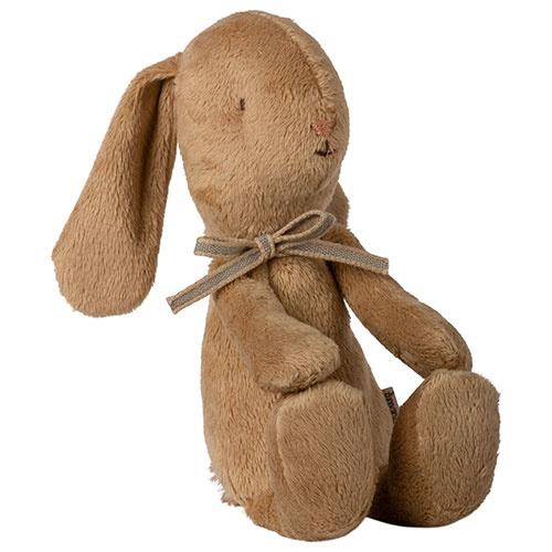 Maileg Soft bunny, Small - Brown (konijn)-4