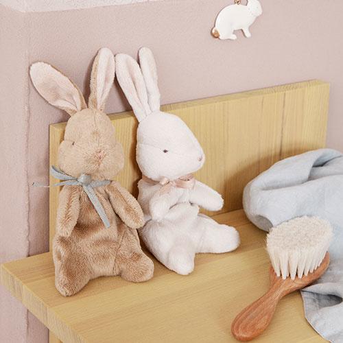 Maileg Soft bunny, Small - Off white (konijn)-2