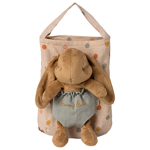 Maileg Bunny Bob in carry-on bag (konijn)-1
