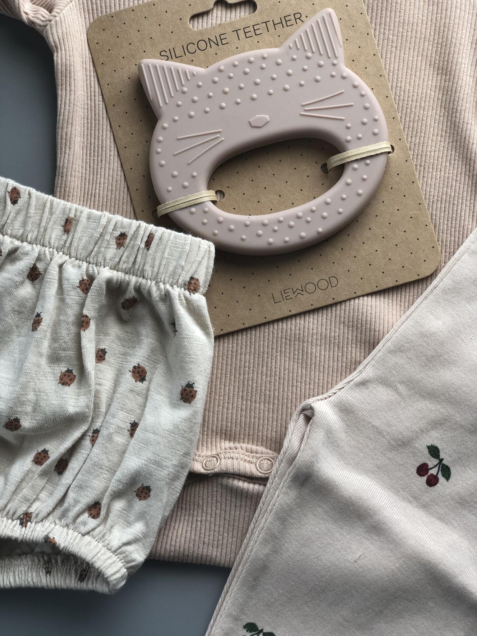 Konges Slojd New Born Pants Cherry (Broek)-3