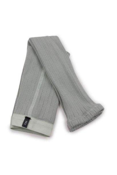 Collegien Maxence Ribbed Tights - Collants a cotes sans pied Aigue Marine (legging)