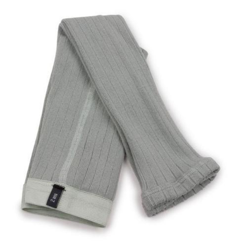 Collegien Maxence Ribbed Tights - Collants a cotes sans pied Aigue Marine (legging)-1