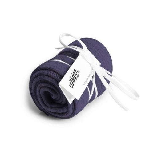 Collegien La Haute - Chaussettes hautes a cotes Fleur de Lavande (kniekousen)-3