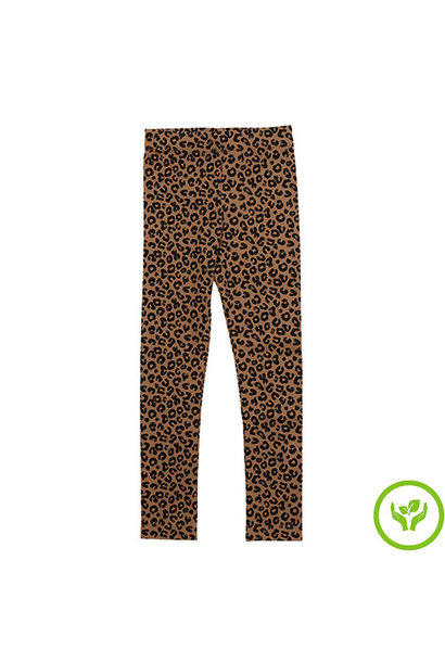 maed for mini Chocolate leopard AOP Legging