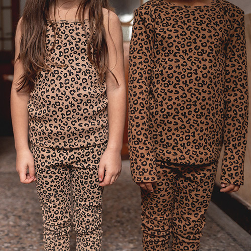 maed for mini Chocolate leopard AOP Legging-3
