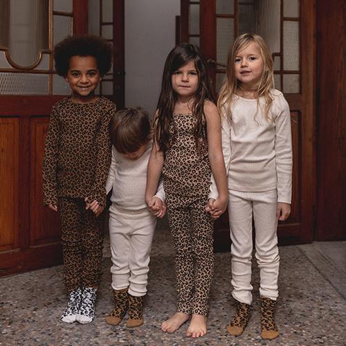 maed for mini Chocolate leopard AOP Legging-2