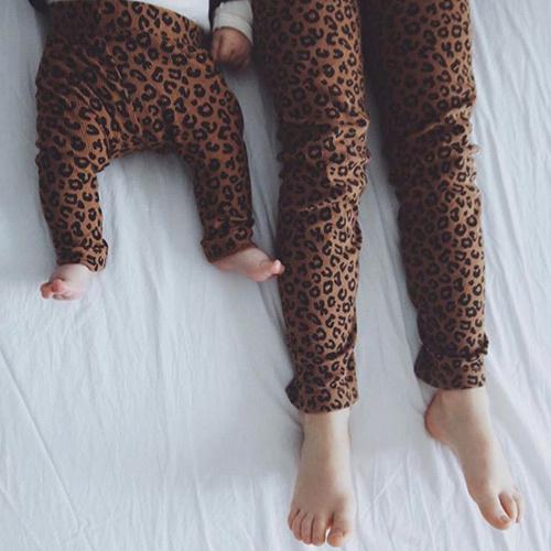 maed for mini Chocolate leopard AOP Legging-4