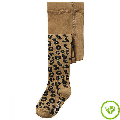 maed for mini Brown Leopard AOP Tights Maillot-1