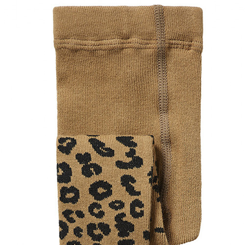 maed for mini Brown Leopard AOP Tights Maillot-4