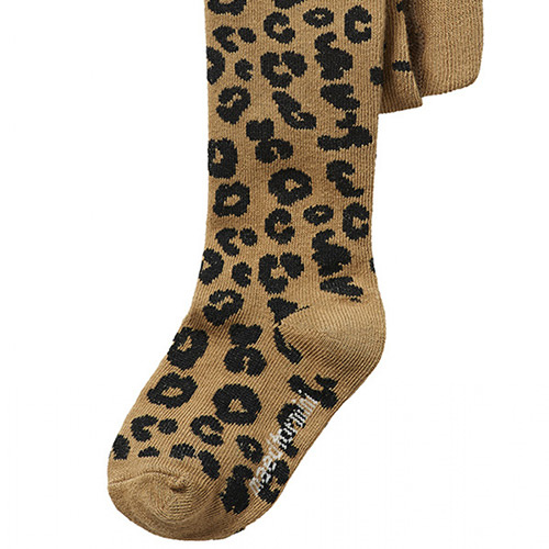 maed for mini Brown Leopard AOP Tights Maillot-5