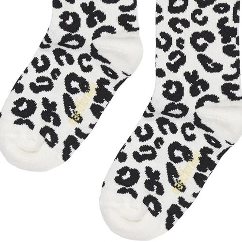 maed for mini White Leopard AOP Knee Socks-10