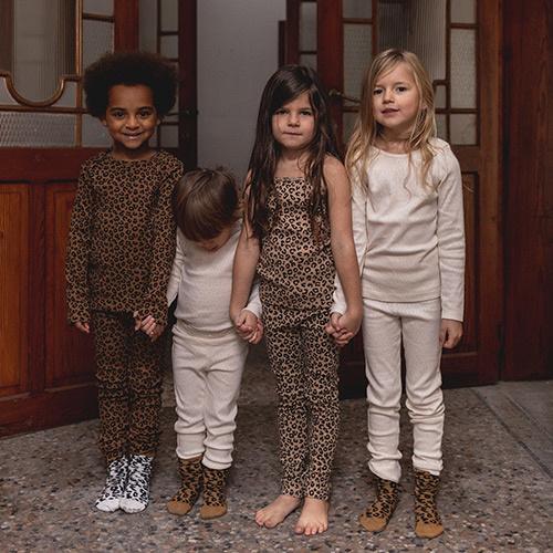 maed for mini White Leopard AOP Knee Socks-6