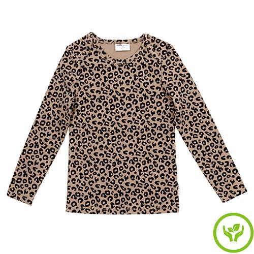 maed for mini Brown Leopard AOP Longsleeve Shirt-1