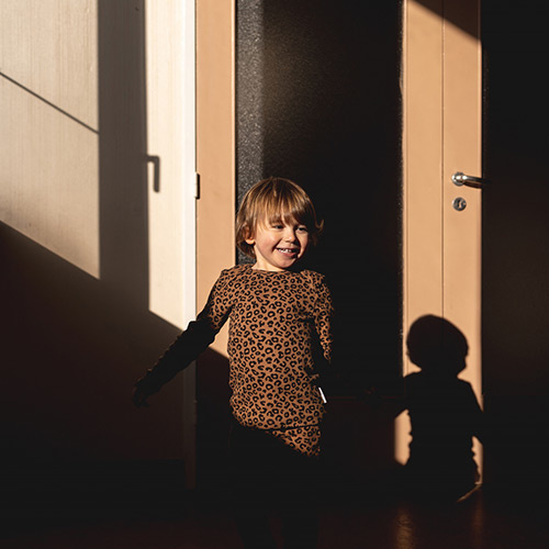 maed for mini Chocolate leopard AOP Longsleeve Shirt-4
