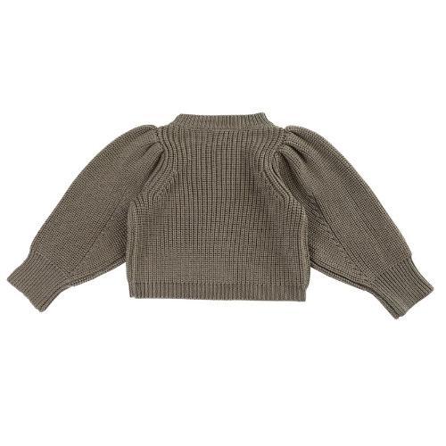 Donsje Megan Sweater Forest Brown Melange (trui)-7
