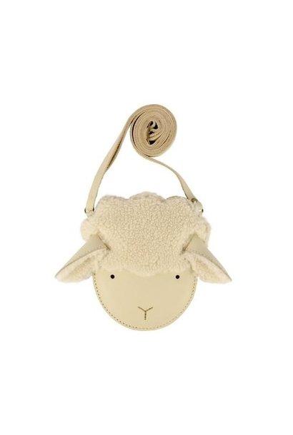 Donsje Britta Exclusive Purse | Lammy Cream Leather (tas)