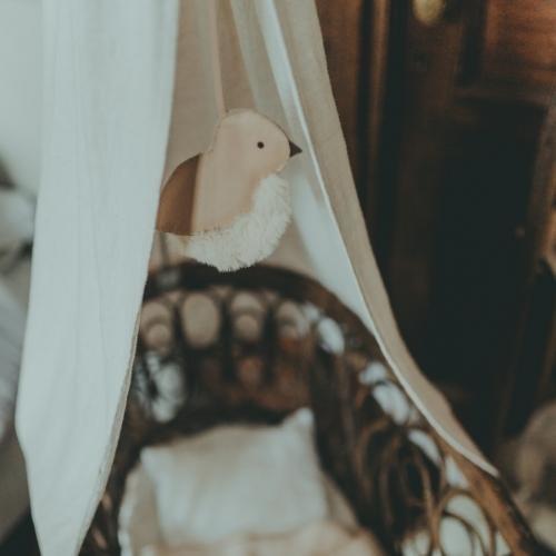 Donsje Lappy Cradle Hanger   Tweet Praline Leather-2