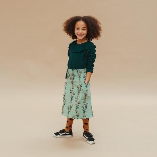 CarlijnQ Edelweiss - midi skirt with side pockets (rok)-2