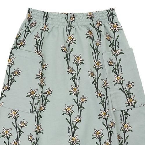 CarlijnQ Edelweiss - midi skirt with side pockets (rok)-4