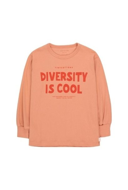 Tinycottons Diversity is Cool Tee rose/red (shirt)