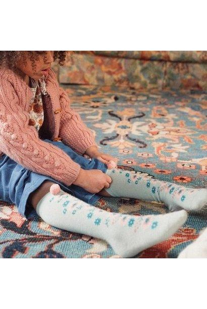 Louise Misha Socks Chelie Sauge (sokken)