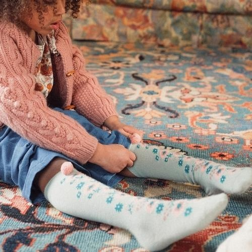 Louise Misha Socks Chelie Sauge (sokken)-1