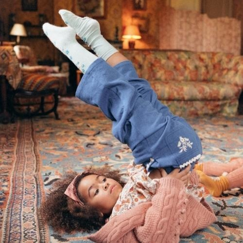 Louise Misha Socks Chelie Sauge (sokken)-3